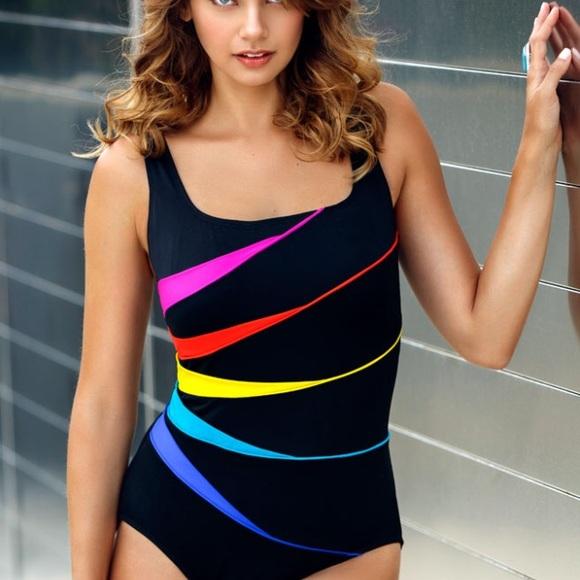 dd2dc11864e Robby len Swim | By Longitude Suit Womens Size 8 | Poshmark